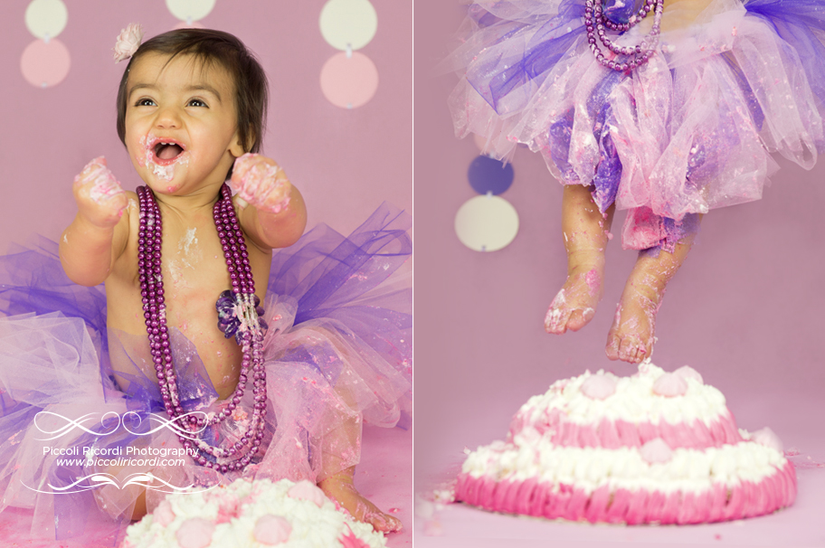 Cake Smash Pavia - Piccoli Ricordi Photography