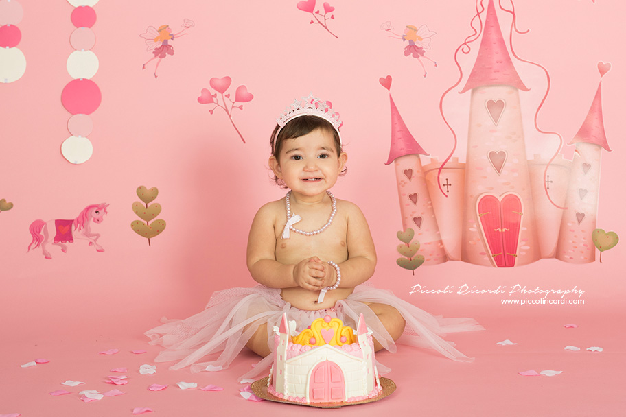 Cake smash Milano | Princess Theme cake