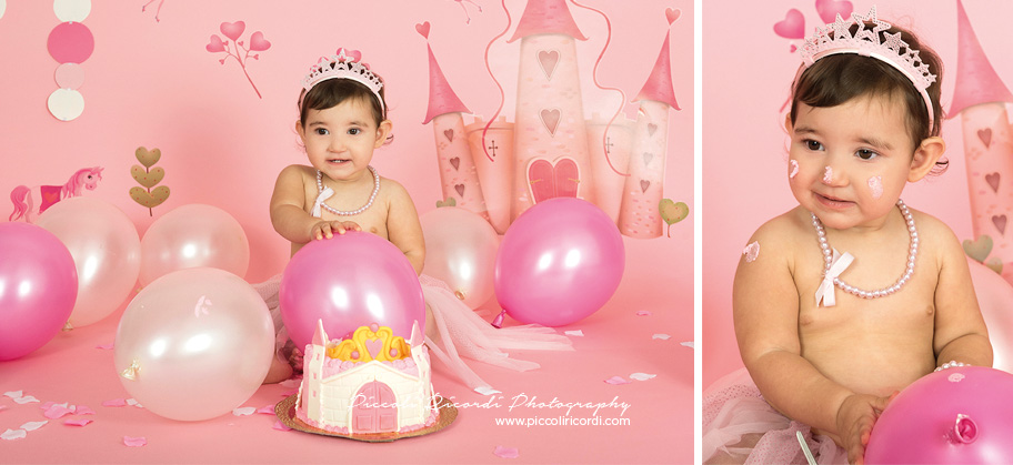 Smash the Cake Milan | Princess Themed Cake | Torta a forma di Castello